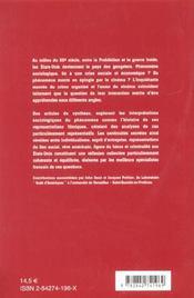 Le crime organisé, de la prohibition à la guerre froide - 4ème de couverture - Format classique