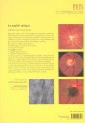 La Papille Optique - 4ème de couverture - Format classique