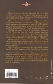 Les Perses t.2 ; le couronnement d'Esther - 4ème de couverture - Format classique