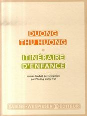 Itinéraire D'Enfance - Intérieur - Format classique
