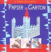 Papier Carton - Intérieur - Format classique