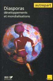 Diasporas ; developpements et mondialisations - Intérieur - Format classique