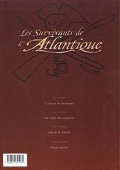 Les survivants de l'Atlantique t.1 ; le secret de Kermadec - 4ème de couverture - Format classique