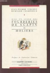 Mise En Scene Des Fourberies De Scapin De Moliere - Couverture - Format classique