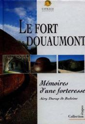Le Fort De Douaumont - Couverture - Format classique