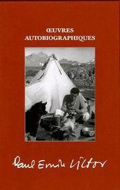 Oeuvres autobiographiques - Couverture - Format classique