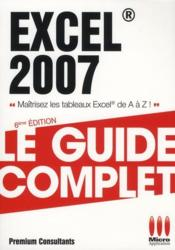 Excel 2007  - Collectif