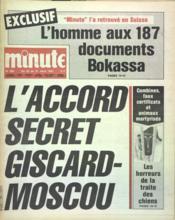 Minute N°989 du 25/03/1981 - Couverture - Format classique