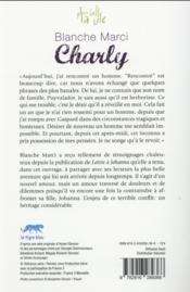 Plus Belle La Vie ; Charly - 4ème de couverture - Format classique