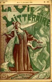 Denis. La Vie Litteraire. - Couverture - Format classique