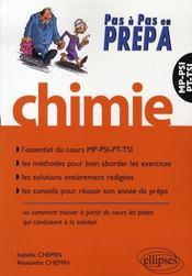 Chimie ; psi-tsi-pt-mp - Intérieur - Format classique