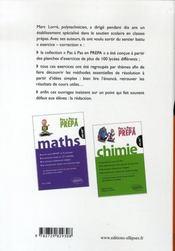 Chimie ; psi-tsi-pt-mp - 4ème de couverture - Format classique