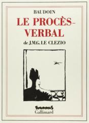 Le Proces-Verbal - Couverture - Format classique
