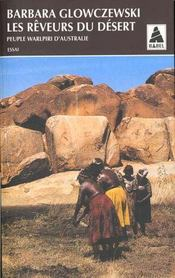 Les reveurs du desert, peuple walpiri d'australie - Intérieur - Format classique