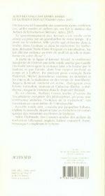 Vingt-Deuxiemes Assises De La Traduction Litteraire ; Arles 2005 - 4ème de couverture - Format classique
