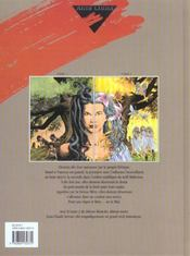 Déesse blanche déesse noire t.2 - 4ème de couverture - Format classique