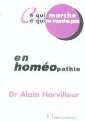 Homeopathie - Intérieur - Format classique