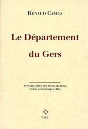 Le département du Gers - Couverture - Format classique