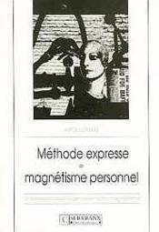 Methode Expresse Magnetisme Personnel - Couverture - Format classique