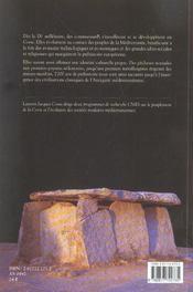 Corse Prehistorique - 4ème de couverture - Format classique