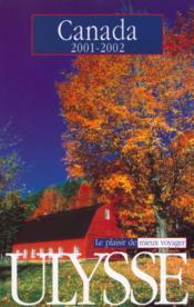 Canada ; Edition 2001-2002 - Couverture - Format classique