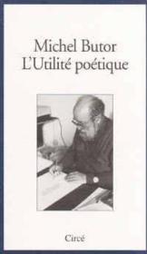 L'Utilite Poetique - Couverture - Format classique