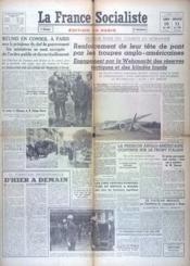 France Socialiste (La) N°797 du 10/06/1944 - Couverture - Format classique