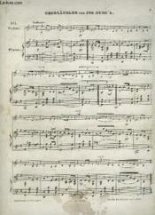 Oberländer - Piano + Violino. - Couverture - Format classique