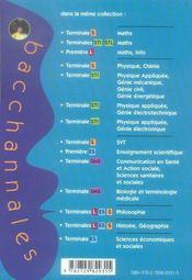 Mathematiques ; enseignement obligatoire et de spécialité ; sujets du Bac 2006 corrigés et commentés, annales thématiques et résumé de cours (Bac 2007) - 4ème de couverture - Format classique