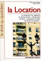 Location (La) - Couverture - Format classique