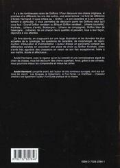 Griffons Et Khortais - 4ème de couverture - Format classique
