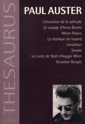 Thesaurus, Paul Auster Integrale T1 - Couverture - Format classique