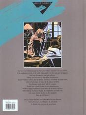 La veuve blanche t.1 - 4ème de couverture - Format classique