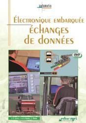 Electronique embarquee : echanges de donnees (dvd) - Couverture - Format classique