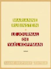 Le journal de Yaël Koppman - Couverture - Format classique
