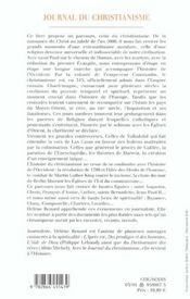 Journal Du Christianisme - 4ème de couverture - Format classique