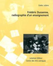 Frederic Dussenne, Radiographie D'Un Enseignement - Couverture - Format classique