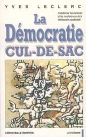 Democratie Cul-De-Sac - Couverture - Format classique