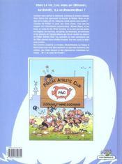 Les rugbymen t.1 ; on va leur mettre les poings sur les yeux ! - 4ème de couverture - Format classique