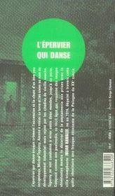 L'épervier qui danse - 4ème de couverture - Format classique