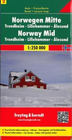 Norvège centrale - Couverture - Format classique