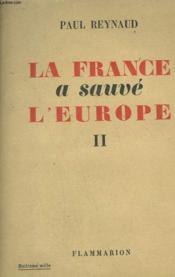 La France A Sauve L'Europe. Tome 2. - Couverture - Format classique
