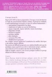 Physique Appliquee Asservissements Lineaires Continus Cours Exercices Corriges Et Travaux Pratiques - 4ème de couverture - Format classique