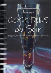 Cocktails du soir - Intérieur - Format classique