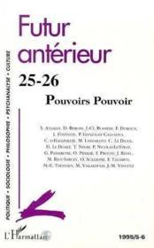 Revue Futur Anterieur 25.26 - Couverture - Format classique