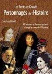 Les petits et grands personnages de l'Histoire - Intérieur - Format classique