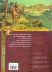 Chinaman t.6 ; frères de sang - 4ème de couverture - Format classique