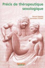 Précis de thérapeutique sexologique - Couverture - Format classique