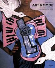 Art & mode ; l'inspiration artistique des créateurs de mode - Couverture - Format classique