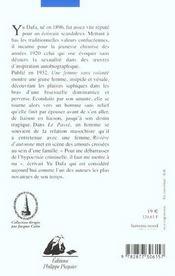 Riviere D'Automne - 4ème de couverture - Format classique
